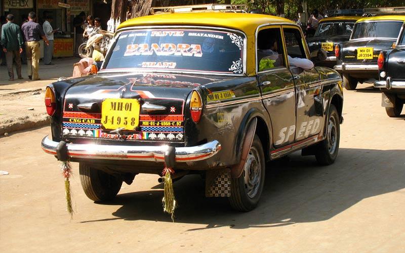 ریکشا در تاکسیرانی در هند