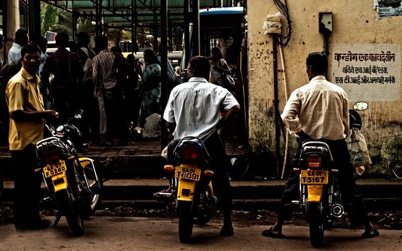 تاکسی موتور در تاکسیرانی در هند