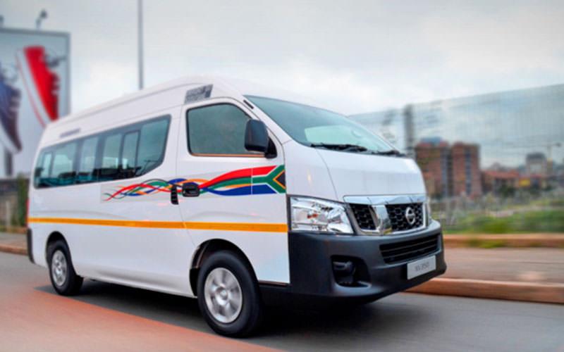 تصویر تاکسی اشتراکی در تاکسیرانی آفریقای جنوبی