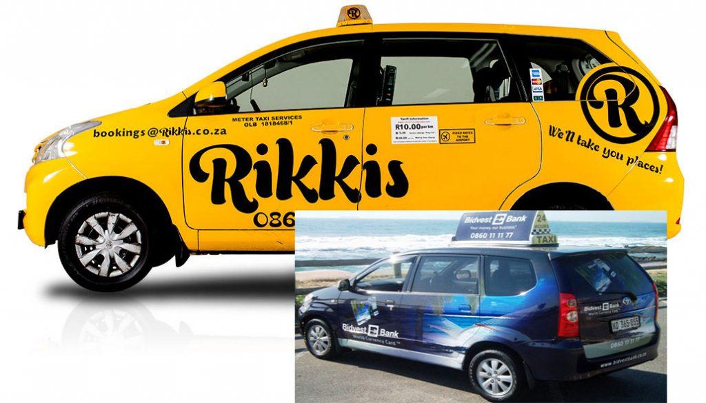 تصویر تاکسی خصوصی در تاکسیرانی آفریقای جنوبی