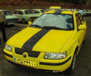 تصویر تاکسی تلفنی