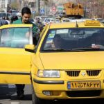 طرح سه نفره شدن سرنشین تاکسی ها
