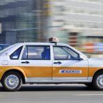 تصویر تاکسی در کشور چین